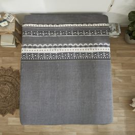 Fitted Sheet Scandinavian Anthracite